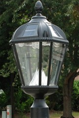 Royal Solar Lamp Post Light