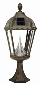 Design your garden landscape with our Royal Solar Lamp Posts.